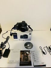 SONY DSC-HX100V CYBER SHOT 16.2MP 30X OPTICAL ZOOM HD WITH BATTERY & CHARGER