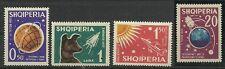 ALBANIEN/ Raumfahrt MiNr 663/66 **