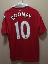 Wayne Rooney -- Manchester United Jersey #10 - Nike Dri-Fit Large  -- NEW Soccer
