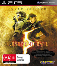 Resident Evil 5 Gold Edition PlayStation 3 Game USED
