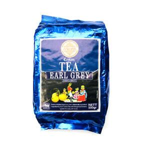 Mlesna Ceylon Tea, Earl Grey Tea 500g (17.63oz)