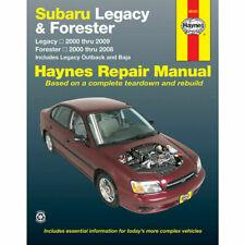 Subaru Outback, Forester, Legacy & Baja 2000 - 2009 Haynes Workshop Manual 89101