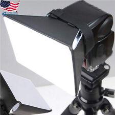 "Foldable Soft Box Flash Light Diffuser for Canon Nikon Sony Sigma 4""x5""/10x13cm"