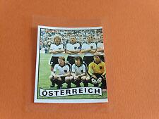 N°244 ÖSTERREICH AUTRICHE RECUPERATION PANINI FRANCE EURO 84 FOOTBALL 1984