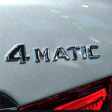 Car Trunk Rear Emblem Badge Chrome Letters For Mercedes 4-Matic 4Matic