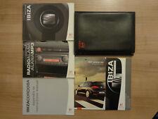 Seat Ibiza Owners Handbook/Manual and Wallet 06-08