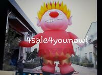 32' FOOT MASSIVE CHRISTMAS INFLATABLE HEAT MISER CUSTOM MADE ONE OF A KIND!!