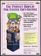 DISNEY & JIM HENSON - Easter Promo__Original 1993 Trade print AD / advertisement