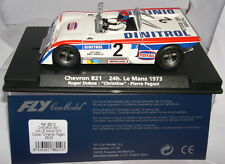 FLY 88210 GB-26 SLOT VOITURE CHEVRON B21 LE MANS 1973 #2 DUBOS-CHRISTINE-PAGANI
