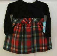 NEW W/T HEALTHTEX GIRLS DRESS SZ 12M