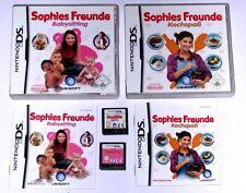 Spiele: SOPHIES FREUNDE BABYSITTING + KOCHSPAß / Nintendo DS + Lite  + 3DS
