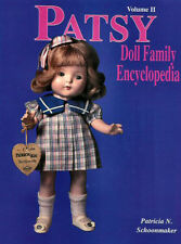 Vol. 2 PATSY DOLL FAMILY ENCYC IDENTIFICATION BOOK P. Schoonmaker -- BRAND NEW