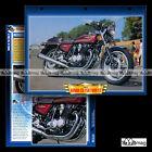 #098.02 Fiche Moto HONDA CB 750 FOUR F2 1977-1978 Motorcycle Card
