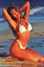POSTER:  LOLA CORWIN - BIKINI.COM - SEXY FEMALE MODEL - FREE SHIP  #3605 LW4 T