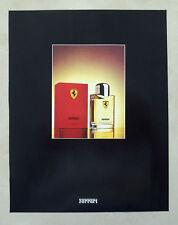 C281-Advertising Pubblicità-1998- FERRARI  EAU DE TOILETTE PROFUMI