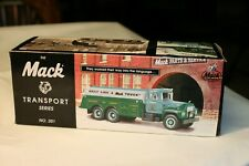 "First Gear Mack Transport Series Tanker 1998  ""Built Like A Mack Truck"""