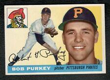 1955 Topps #118 Bob Purkey EXMT Pittsburgh Pirates