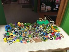 Vintage Playmates Teenage Mutant Ninja Turtle TMNT 1980's Figure Parts Lot #A530