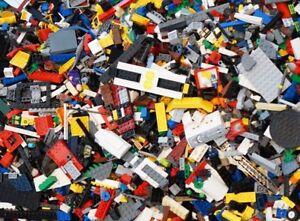 LEGO Bricks - 500g (1/2KG) of GENUINE Lego Bulk Mixed Lego -  Free TRACKED P&P