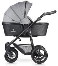 New Venicci Shadow 2 in 1 pram & pushchair in Denim Grey with bag & raincover