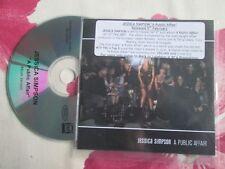 Jessica Simpson – A Public Affair  EPIC / RCA Records Promo CD Single