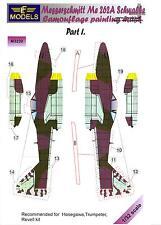 LF Models 1/32 MESSERSCHMITT Me-262A SCHWALBE Camouflage Paint Mask Set Part 1