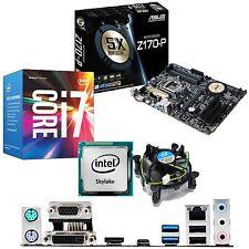 INTEL Core i7 6700 3.4Ghz & ASUS Z170-P - Paquete de CPU Motherboard &