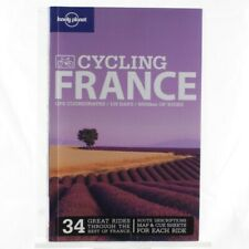 Lonely Planet Travel Guide Cycling France Reference Book Maps Attractions Help