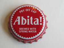 Beer Bottle Red Crown Cap ~ Abita Brewery ~ Abita Springs, Louisiana Breweriana