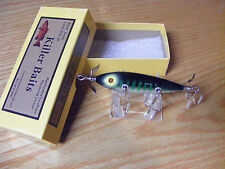 Killer Baits Rusty Jessee Heddon Little Sac Style Glasseye 150 in Mackeral Color