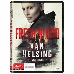 Van Helsing - Season 4 (DVD, 2021, 4-Disc Set) NEW