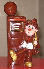 * Vintage ceramic gas pump liquor decanter