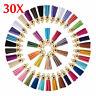 Lots 30pcs Velvet Leather Tassel For Keychain Jewelry DIY Pendant Findings
