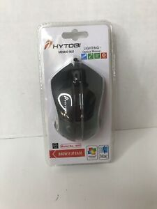 Hytobi MEM50-BLU Lighting Optical Mouse New With Box Issues