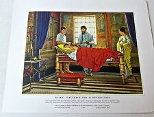 Medical Art-Galen-Influence for 45 Generations Ltd Ed Offset Lithograph 16x13