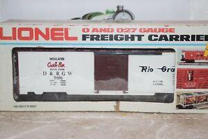 O Scale Trains Lionel Rio Grande Box Car 9406