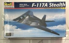 REVELL 1/48 U.S. AIR FORCE F-117A STEALTH BOMBER JET AIRCRAFT MODEL 85-5834 F/S