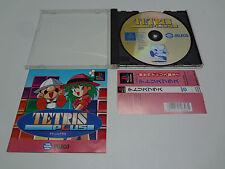 Tetris Plus W/Spine Sony Playstation Japan