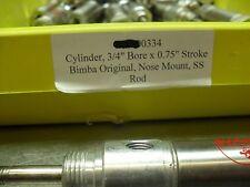 Bimba SR-040.75-D Inoxidable 1.9cm Tiempos 1.9cm Orificio Eua Vendedor