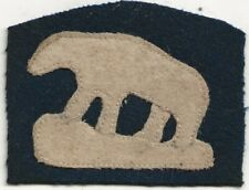 """Ex/Rare Original Wwi """"North Russian Expedition"""" Patch - Wool On Wool"""