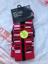 Nike Elite Cushioned Crew Red Basketball Socks Men's Genuine Uk 2-5 Eu 34-38