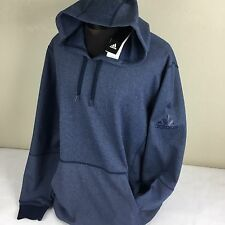 Adidas Hoodie Sweatshirt Pullover Jumper LW Hoody Conavy Blue Men 2XL NWT Logo