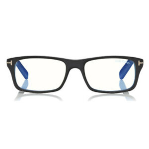 Computer Reading Glasses Tom Ford FT 5663-B 001 53 17 145 Black Made in Italy