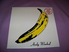VELVET UNDERGROUND & NICO WARHOL  BANANA YELLOW COLORED VINYL LP SEALED