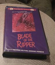 BLADE OF THE RIPPER VHS HORROR REGAL VIDEO RARE