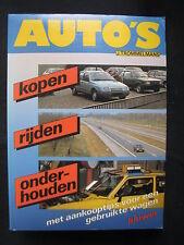 Kluwer Book Auto's kopen, rijden, onderhouden J. Trommelmans (Nederlands) 1984