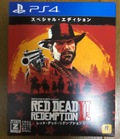 PS4 Red Dead Redemption II 2 Special Edition JAPAN Sony PlayStation 4 game