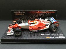 Minichamps - Ralph Schumacher - Toyota  - TF105 - 1:43-2005 -Japan Power Special