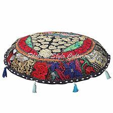 "Handmade Bird Sofa Cushion Cover Kantha Pillow Case Cover Decor 16"" Throw"