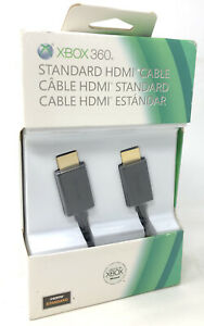 Genuine Microsoft Xbox 360 High Speed HDMI Cable New Sealed In Damaged Box OEM